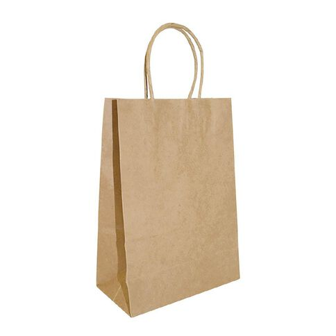 Accessory Twisted Handle Paper Bag 25 Pack