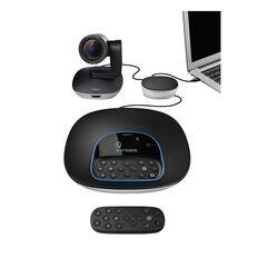 Logitech Group Video Conferencing System Black