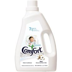 Comfort Dilute Fabric Softner 7 in 1 Pure 2L