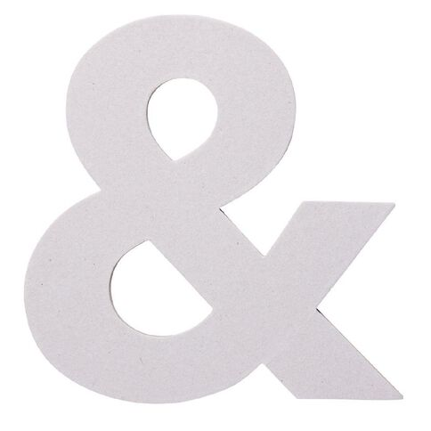 Rosie's Studio Chipboard Shape Ampersand 20cm