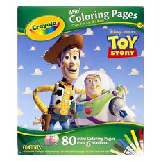 Crayola Mini Coloring Pages Disney Assorted