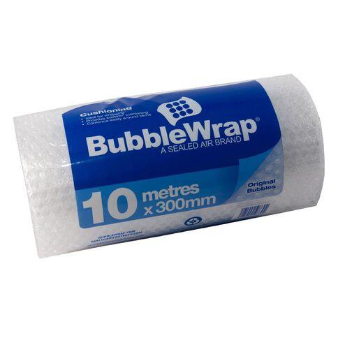 Bubble Wrap 300mm x 10m Clear