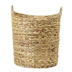 Living & Co Water Hyacinth Round Basket Natural