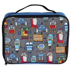 Powell Happy Robots Lunch Bag