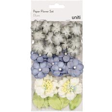 Uniti Paper Flower Set Blues