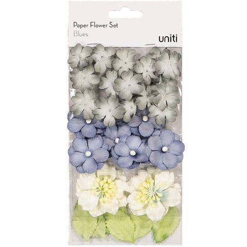 Uniti Paper Flower Set Blues