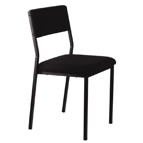 Workspace Stacker Chair Black