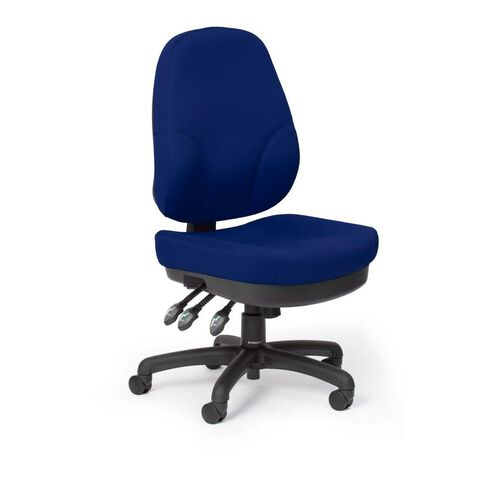 Chairmaster Plymouth Chair Royal Blue Blue