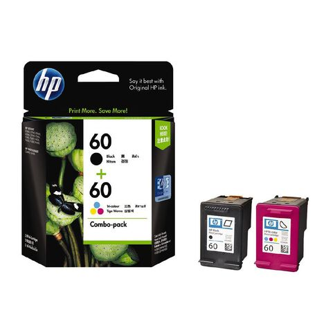 HP Ink 60/60 Combo Pack