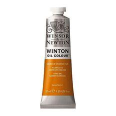 Winsor & Newton Winton Oil Paint 37ml Cadmium Orange Hue