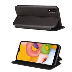 In Touch Samsung A01 Milano Wallet Case Black