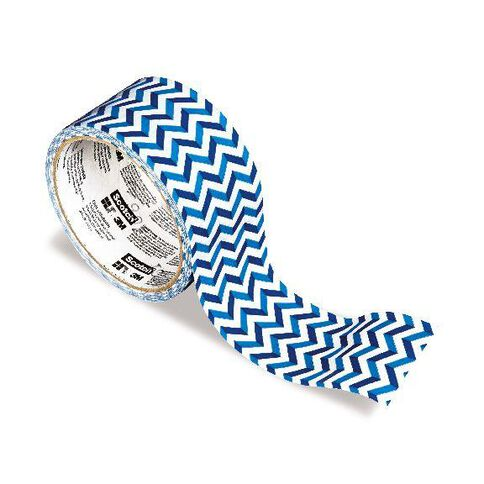 Scotch Duct Craft Tape 48mm x 9.14m Chevron