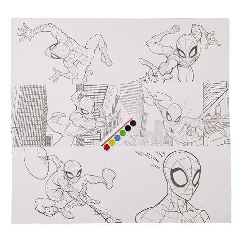 Spider-Man Paint Colouring Set