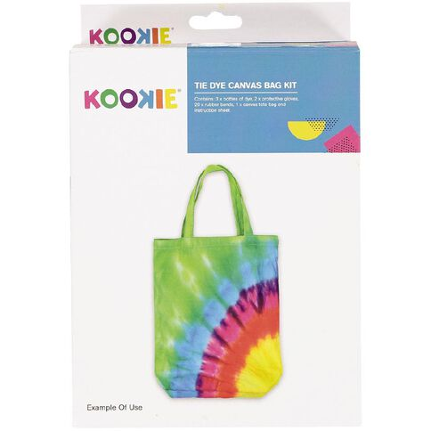 Kookie Tie Dye Kit Canvas Bag