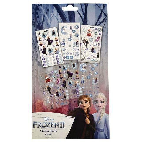 Frozen Sticker Pad 6 Page