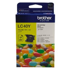 Brother Ink LC40 Yellow (300 Pages)