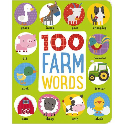 First 100 Farm Words Padded Board Book