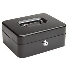 Impact Cash Box Black 8 inch