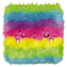 Kookie Rainbow Furry Notebook