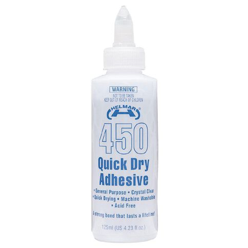 Helmar 450 Quick Dry Adhesive 125ml Clear