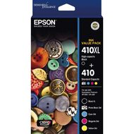 Epson Ink 410XL+410 Photo Value 5 Pack