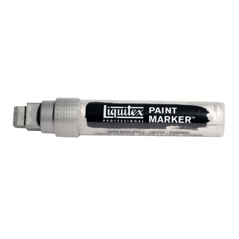 Liquitex Marker 15mm Irid Rich Silver