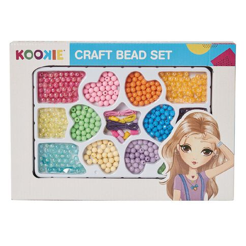 Kookie Beads Set Multi-Coloured