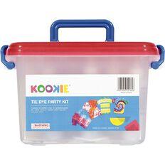 Kookie Tie Dye Kit Party Case 74 Piece