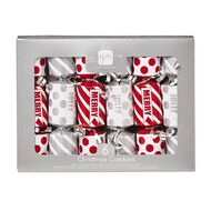 Artwrap Mini Christmas Crackers 16.5cm Assorted 6 Pack