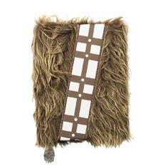 Star Wars Premium Notebook Chewbacca Plush A5