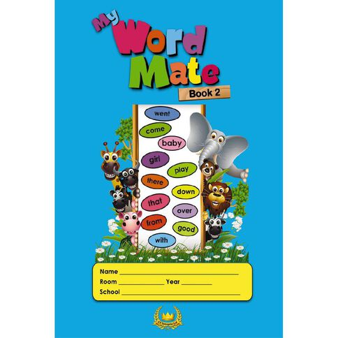 GT My Word Mate Book 2 Blue