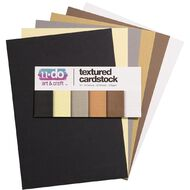 U-Do Value Cardstock Textured 216gsm 30 Sheets Neutral A4