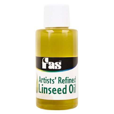 FAS Linseed Oil 60ml Clear 60ml