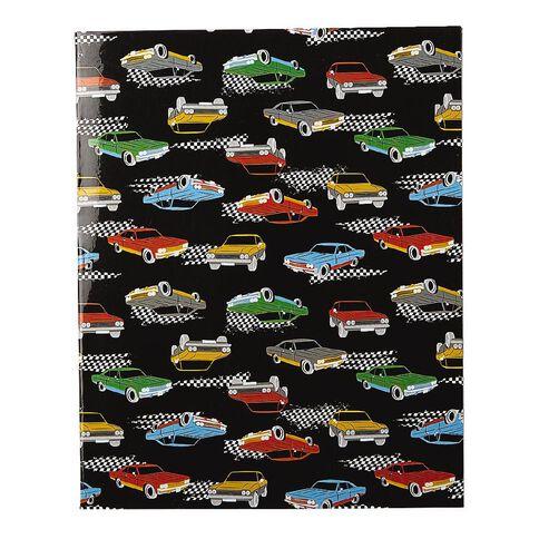 WS Book Cover Cars 45cm x 1m