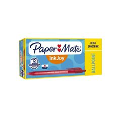 Paper Mate Inkjoy 100RT Red 12 Pack