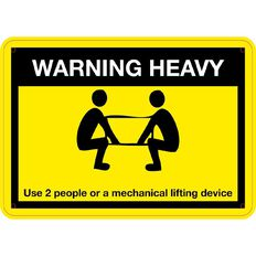 Impact Warning Heavy Use 2 People Small 240mm x 340mm