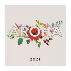 Bright Ideas 2021 Calendar Aroha 290mm X 290mm
