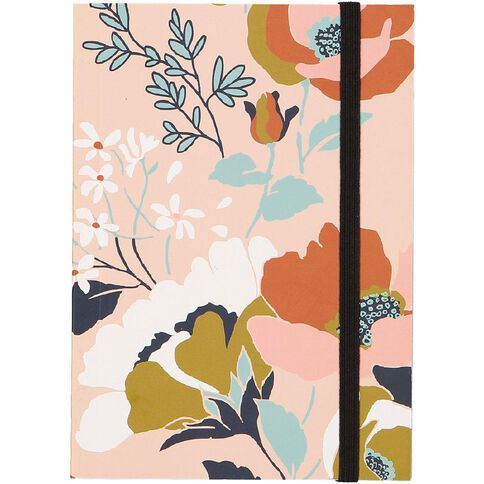 Uniti Winter Bloom Hardcover Notebook A6