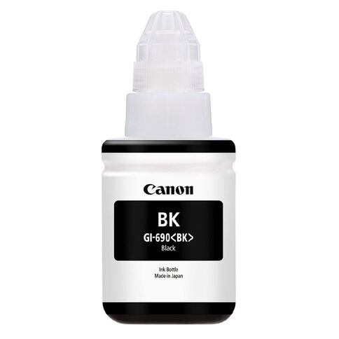 Canon Ink GI690BK Black (6000 Pages)
