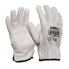 Esko Natural Cowgrain 'A' Grade Rigger Glove White