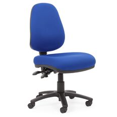 Chairmaster Apex Plus Highback Chair Royal Blue
