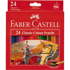 Faber-Castell Classic Colour Pencils 24 Pack