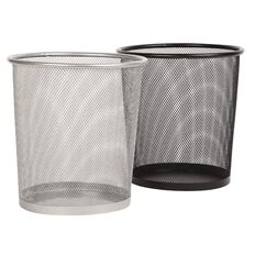 Rubbish Bin Mesh Round 23 x 27cm Assorted