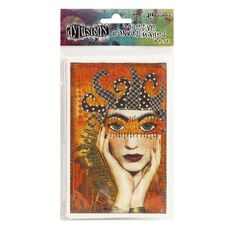 Ranger Dylusions Adhesive Canvas Printed Collection 1
