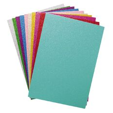 U-Do EVA Foam 10 Pack Glitter Assorted