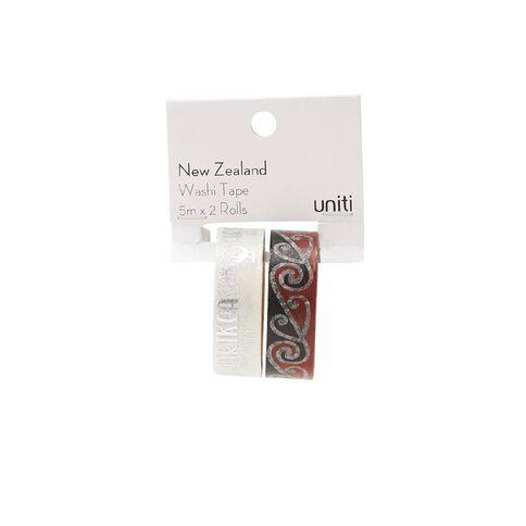 Uniti New Zealand Washi Tape 2 Pack Harikoa