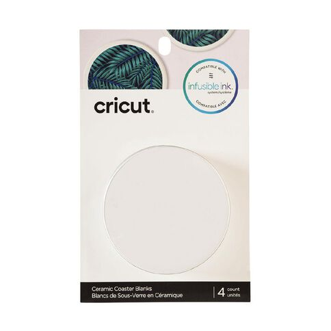 Cricut Infusible Ink Round Coasters 4 pack 4 Pack