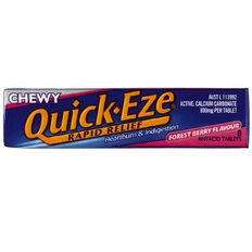 Quick Eze Chewy Forest Berry 8s