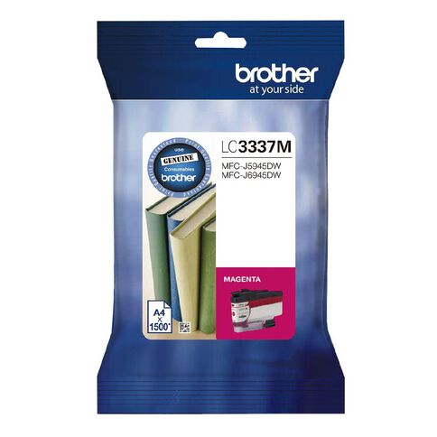 Brother Ink LC3337M Magenta (1500 Pages)