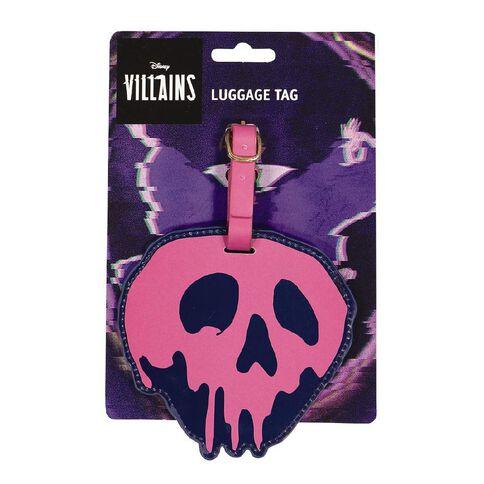 Disney Villains Luggage Tag Apple